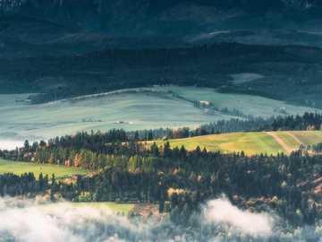 << Tatry >> - Landschaftspuzzle.