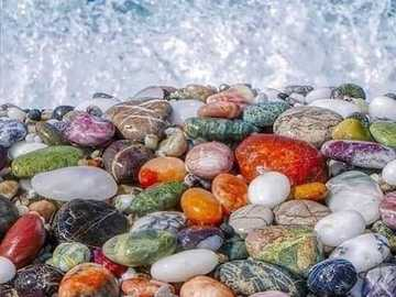 incredibly beautiful stones on the beach - incredibly beautiful stones on the beach