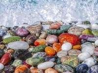 απίστευτα όμορφες πέτρες στην παραλία - απίστευτα όμορφες πέτρες στην παραλία