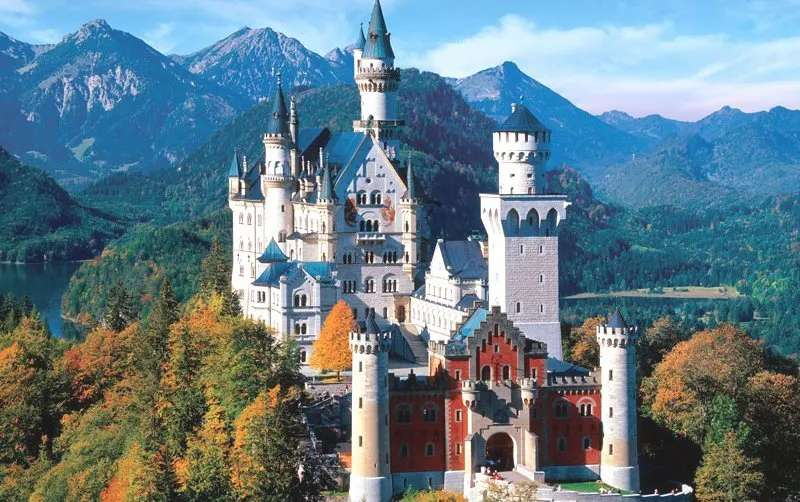 castle in the mountains - m ......................
