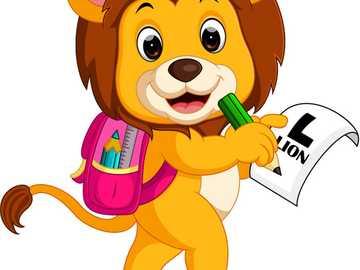Uczniowie chodzą do szkoły dzieci dziewczyna - Uczniowie chodzą do szkoły dzieci dziewczyna