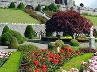 Drummond Castle, Perthshire, Skotsko - Drummond Castle, Perthshire, Skotsko