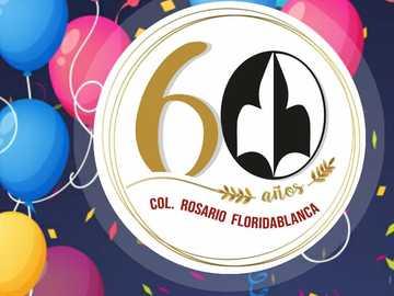 pussel - 60 år gammal skola för vår dam av floridablancas radband