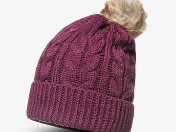 Winter hat - Winter hat. A nine-element image.