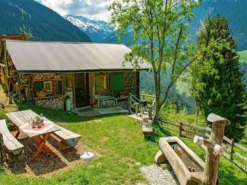 Cabaña alpina en Austria - Cabaña alpina en Austria