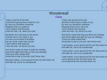 Wonderwall 9-1 - Пъзел Wonderwall 9-1