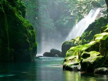 Ruisseau entre les rochers - Ruisseau entre les rochers