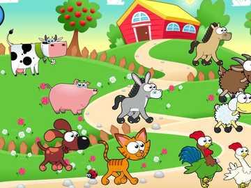 La Fattoria - la fattoria e i suoi animali