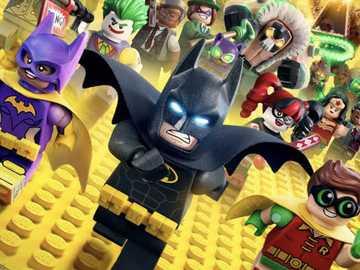 Batman lego film - Sätt ihop detta pussel