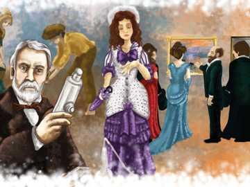 Kultura XIX wieku - Pod koniec XIX wieku impresjonizm zrewolucjonizował sztukę malarską, troszcząc się o światło,