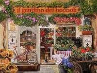 Магазин за рисуване на цветя в Италия - Магазин за рисуване на цветя в Италия
