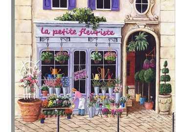 Floristería de pintura en Francia - Floristería de pintura en Francia