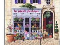 Магазин за цветя във Франция - Магазин за цветя във Франция