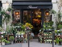 Магазин за цветя в Париж - Магазин за цветя в Париж