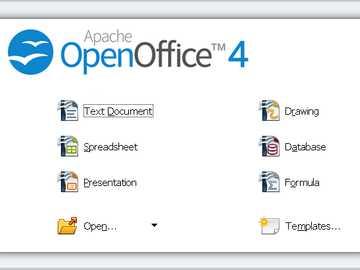 UFFICIO APERTO - OpenOffice è una suite per ufficio gratuita e open source che include un elaboratore di testi, un f