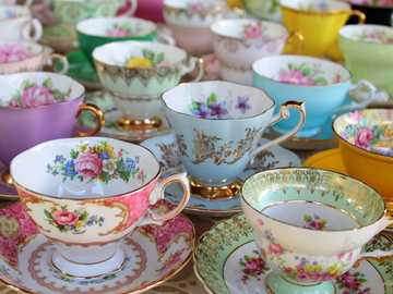 To drink the tea - Tea Cup Set