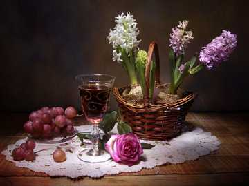 glass of wine - m ...................
