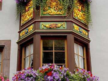 Ventanales ornamentados en Rottweil - Ventanales ornamentados en Rottweil