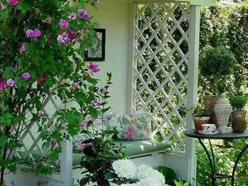 Cozy garden corner - Cozy garden corner
