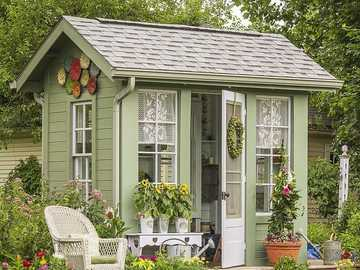 Nice little garden shed - Nice little garden shed
