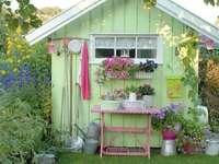 Frumos șopron de grădină - Frumos șopron de grădină
