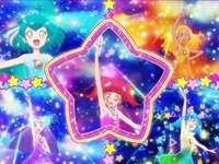 Висулка с цветна звезда! Цветен заряд!