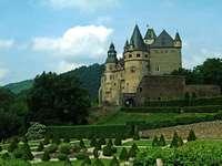 Allemagne - Beau château en Allemagne