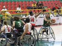 Wheelchair basketball - Modified or women's wheelchair basketball