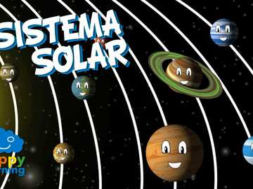Solar system - The Sun and the Planets that surround it