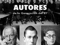 Δημιουργία 27 συγγραφέων - συγγραφείς της γενιάς των 27 Rafael Albert, Emilio Prados και Miguel Herná