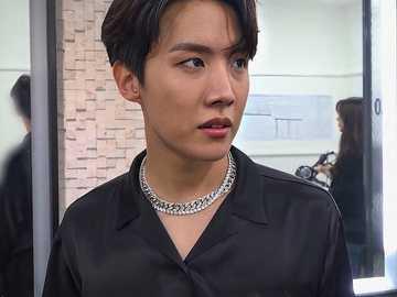 Jung Hoseok. - Apenas aprecie a beleza de Jung Hoseok. Espero que você tenha se divertido fazendo isso. Obrigado.