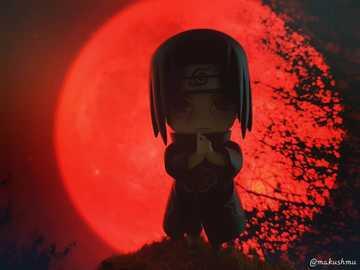 Itachi under the red moon - Itachi under the red moon