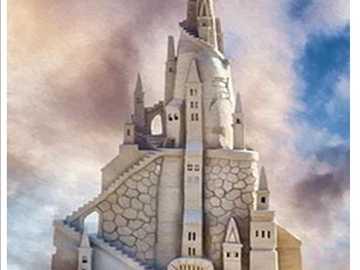 enchanted castle - enchanted fairy tale castle