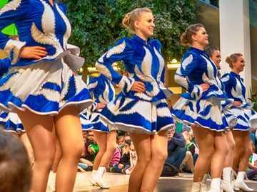 danseurs - Danse irlandaise au spectacle