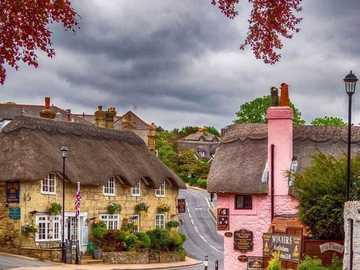 callejón en el pueblo viejo - callejón en el pueblo viejo