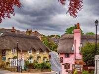 uliczka w starej wiosce - uliczka w starej wiosce