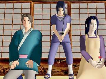 Itachi and his parents - Itachi, a difficult choice in front of his parents