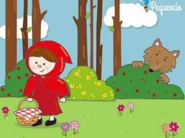 red Riding Hood - child puzzle