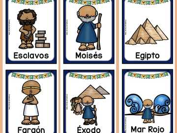 Mojžíšova třída dětí - Biblické dějiny Mojžíše s jejich materiálem