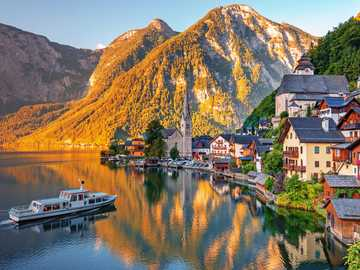 Cottages by the lake - Cottages By A Lake In The Mountains, Austria