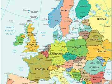 European continent - come the countries that are in the European continent