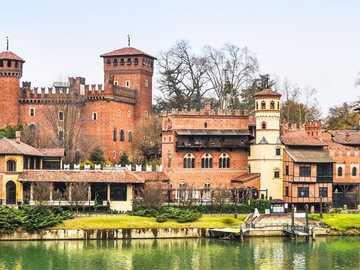 Turin medieval castle complex - Turin medieval castle complex