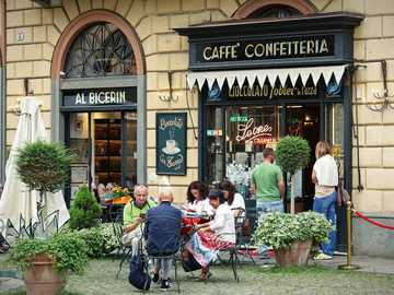 Turin cafe visit Northern Italy - Turin cafe visit Northern Italy