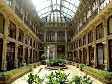 Turin Galleria Subalpina shopping center - Turin Galleria Subalpina shopping center