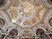 Turin Kirche San Lorenzo Kuppel innen