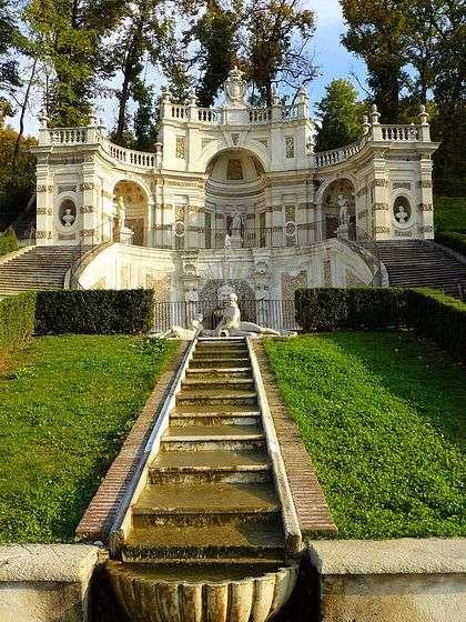 Fonte de água Turin Villa Regina quebra-cabeça