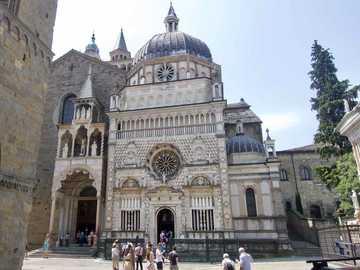 Bergamo Basilika Santa Maria Maggiore Lombardei - Bergamo Basilika Santa Maria Maggiore Lombardei