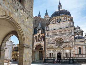 Bergamo Basilica of Santa Maria Maggiore - Bergamo Basilica of Santa Maria Maggiore