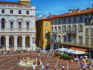Bergamo Innenstadt Lombardei - Bergamo Innenstadt Lombardei