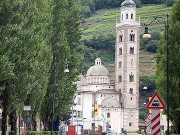 Tirano Lombardei an der Grenze zur Schweiz - Tirano Lombardei an der Grenze zur Schweiz